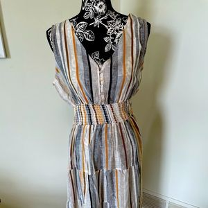 V Neck Summer Dress
